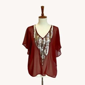 Collective Concepts Tops - Boho Glam Top